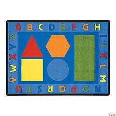 Alphabet Shapes® Classroom Rug