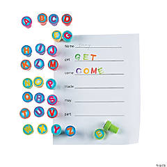 Alphabet Stamper Word Building Activity Idea