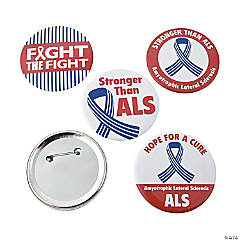 ALS Awareness Buttons