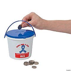 ALS Awareness Donation Buckets