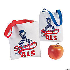 ALS Awareness Tote Bags