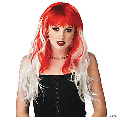 Alterna Red & White Wig