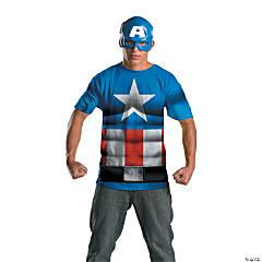 Alternative Captain America Costume for Men