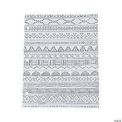 American Crafts™ Adult Coloring Tribal Pocket Folders