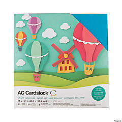 American Crafts Brights Cardstock Variety Pack