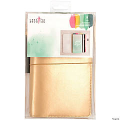 American Crafts Creative Devotion War Binder Traveler's Notebook Journal-Faux Leather