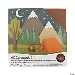 American Crafts Earthtones Cardstock Variety Pack