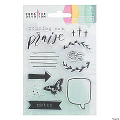 American Crafts™ Pouring Out Praise Stamps