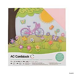 American Crafts Spring Cardstock Variety Pack