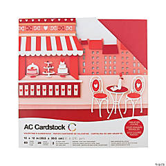 American Crafts Valentine Cardstock Variety Pack