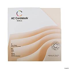 American Crafts Vanilla Cardstock Pack