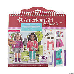 American Girl Crafts™ Paper Doll Fashion Stylist Set