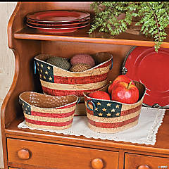 Americana Decorative Pails