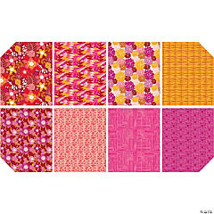 Amy Reber Half Yard Bundle-8Pcs - Redbud
