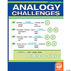 Analogy Challenges: Advanced Level