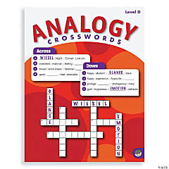 Analogy Crosswords: Level D