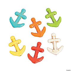 Anchor Stone Beads - 21mm