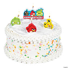 Angry Birds Birthday Candles