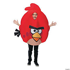 Angry Birds Red Costume For Kids