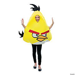 Angry Birds Yellow Bird Costume For Kids