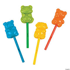 Animal Lollipops on a Whistle