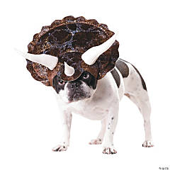 Animal Planet Triceratops Dog Costume