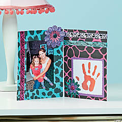 Animal Print Photo Frame Idea