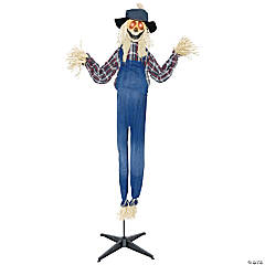 Outdoor halloween decorations halloween yard decorations for Animated scarecrow decoration