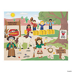Annie Oakley Sticker Scenes