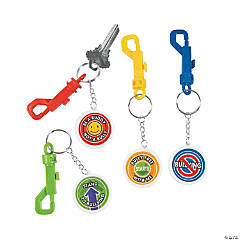 Anti-Bullying Backpack Clip Keychains
