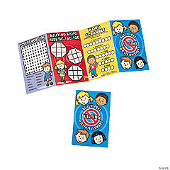Anti-Bullying Fold-Up Activity Books