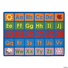 Any Day Alphabet® Classroom Rug