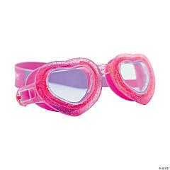 Aqua2ude Glitter Heart Goggles