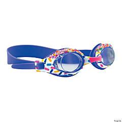 Aqua2ude Sprinkle Print Swim Goggles
