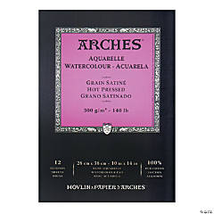 Arches Watercolor Pad Hot