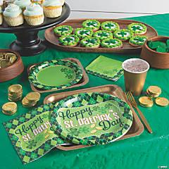 Argyle St. Patrick's Day Party Supplies