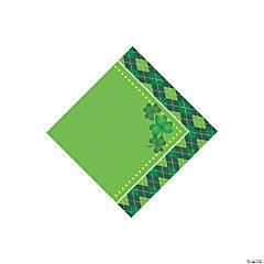 Argyle St. Patrick's Day Beverage Paper Napkins