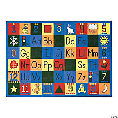 Around The Block® Classroom Rug