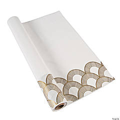 Art Deco Tablecloth Roll