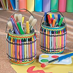 Art Supplies Holder Idea