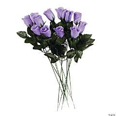 Artificial Lavender Rosebuds