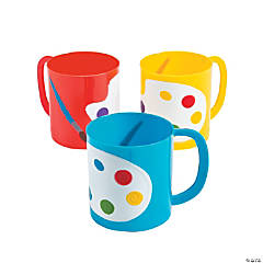 Artist Party Plastic Mugs