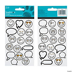 ArtZone™ Coloring Stickers - Emojis