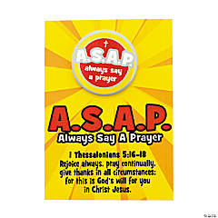 ASAP Pins with Card