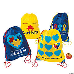 Autism Awareness Backpacks
