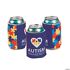 Autism Awareness Can Coolers