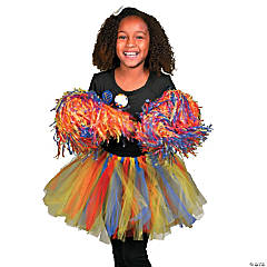 Autism Awareness Cheerleader Costume Idea