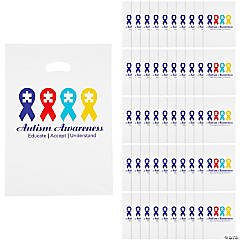 Autism Awareness Gift Bags with Handle