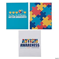 Autism Awareness Pocket Folders