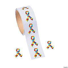 Autism Awareness Puzzle Stickers